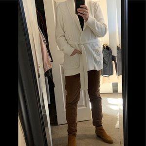 Cotton blend Calvin Klein ivory  sweater